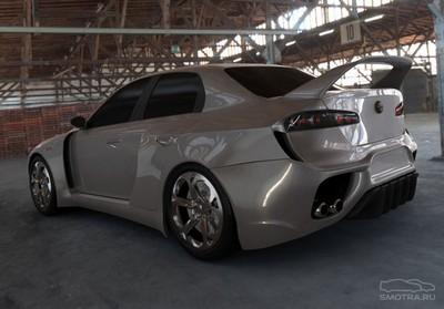 Чешский Alfa Romeo Spider – альфа-канал