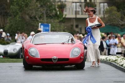 Двигатели Альфа Ромео к гоночным машинами